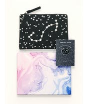 Zodiac Pouch & Pin - Gift Set