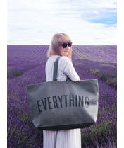 Everything - Grey REALLY Big Bag