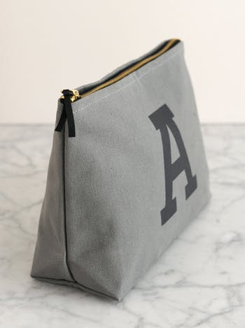 Men's Initial Toiletry Bag | Personalised Gifts for Him | Alphabet Bags