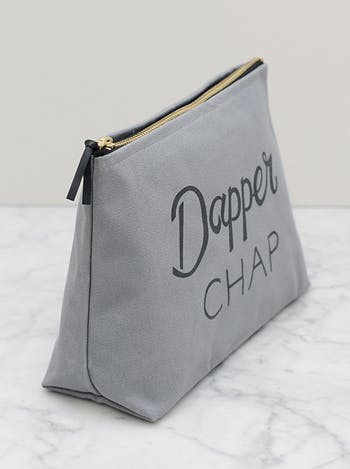 Dapper Chap Washbag | Men's Toiletry Bags | Alphabet Bags