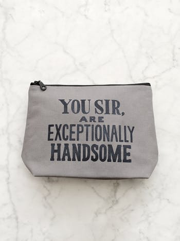 You Sir, Are Exceptionally Handsome | Gifts For Men | Alphabet Bags