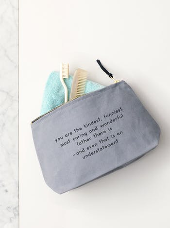 The Kindest Father - Wash Bag