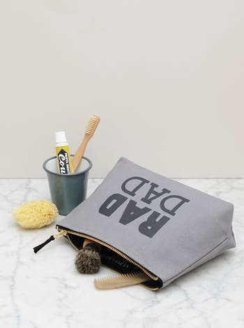 Rad Dad Washbag | Gifts For Dad | Alphabet Bags