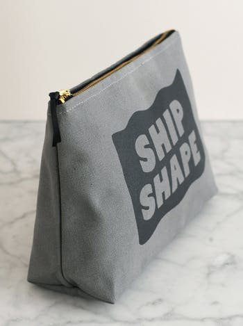 Ship Shape Washbag | Men's Toiletry Bags | Alphabet Bags