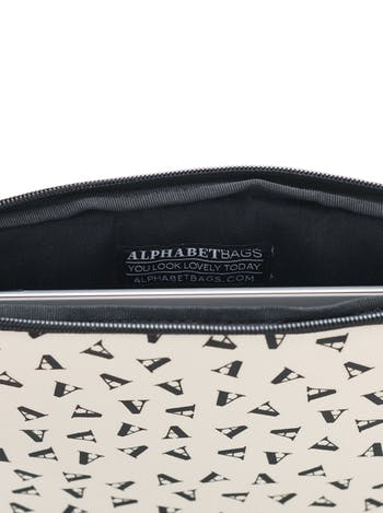 Initial Ipad Case | Personalised Bags & Gifts | Alphabet Bags