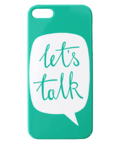 Let's Talk - iPhone 5/5S/SE Case