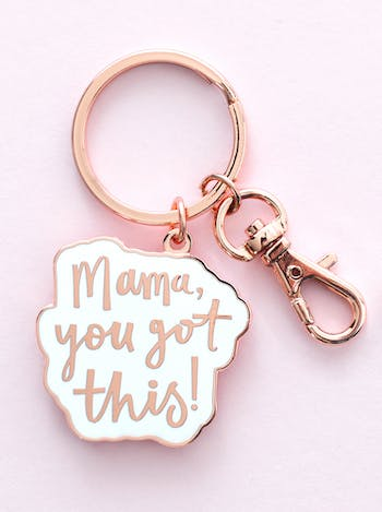 Mama You Got This | Enamel Keyring | Alphabet Bags