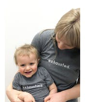 Exhausting - Grey Kids T-Shirt