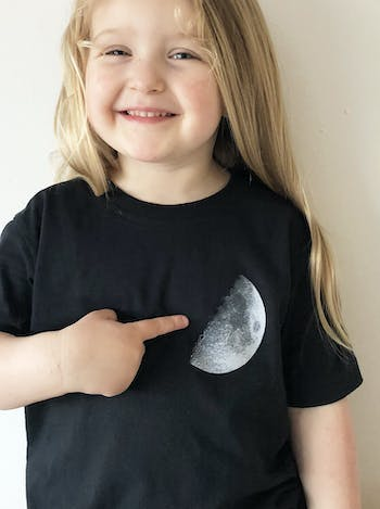 Moon - Kids T-Shirt