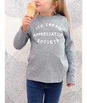Ice Cream Appreciation Society - Kid's Long Sleeve T-Shirt