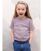 Ice Cream Appreciation Society - Kid's Tee - Lavender