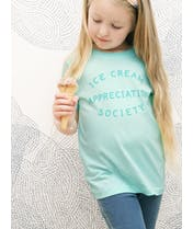 Ice Cream Appreciation Society - Kid's T-Shirt - Mint