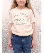 Ice Cream Appreciation Society - Kid's Tee - Natural Fleck