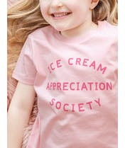 Ice Cream Appreciation Society - Kid's T-Shirt - Strawberry