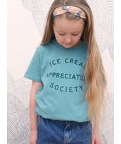 Ice Cream Appreciation Society - Kid's Tee - Teal