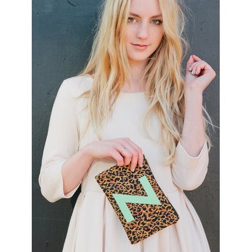 Photo of Leopard Pouch - L