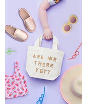 Are We There Yet? - Little Canvas Bag