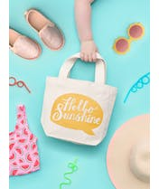 Hello Sunshine - Little Canvas Bag