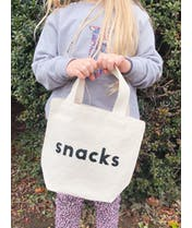 Snacks - Little Canvas Bag