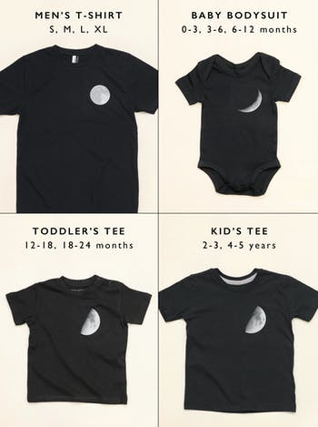 Moon T-Shirt Set | Dad and Baby TShirt Set | Alphabet Bags