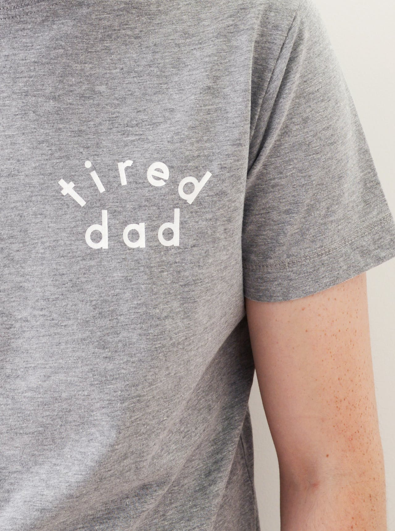 Tired Dad - Mens T-Shirt