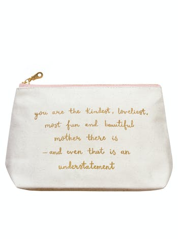 Kindest Mother Makeup Bag | Cosmetics Bags | Alphabet Bags