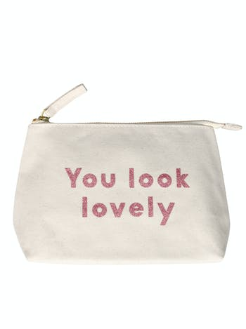You Look Lovely - Makeup Bag - Second