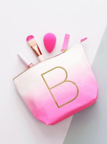 Initial Ombre Makeup Bag - Seconds