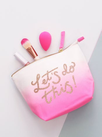 Let's Do This! Ombre - Makeup Bag - Second