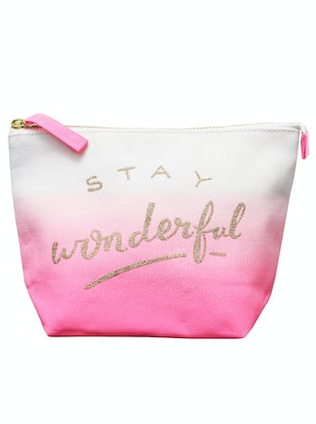 Stay Wonderful Makeup Bag | Makeup Bags | Alphabet Bags