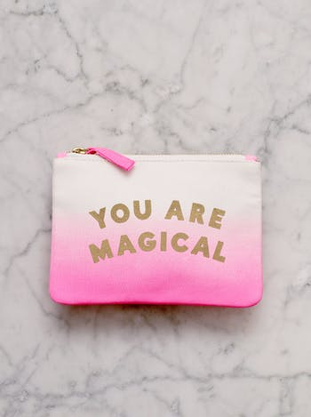 You are Magical - Ombré Pouch