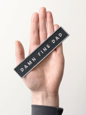 Damn Fine Dad - Embroidered Patch