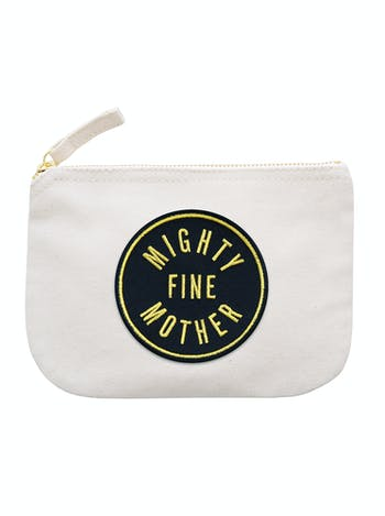 Mighty Fine Mother - Little Canvas Pouch - Second