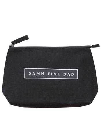 Damn Fine Dad | Men's Shaving Bag | Alphabet Bags