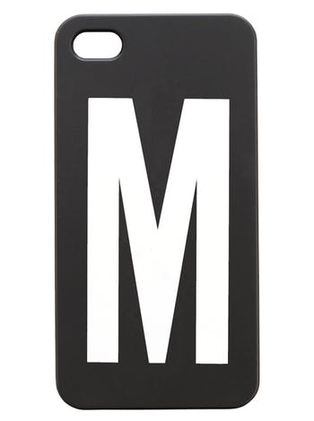 iPhone 4/4S case - M