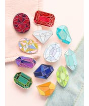 Gemstone Enamel Pin