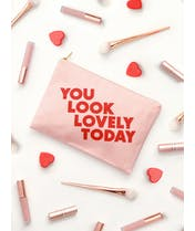 You Look Lovely Today - Blush Pink Pouch - Second