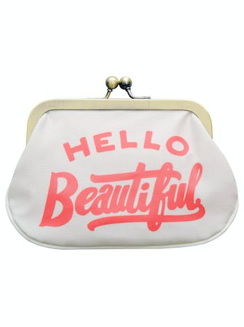 Hello Beautiful Coin Purse | Coin Purse | Alphabet Bags
