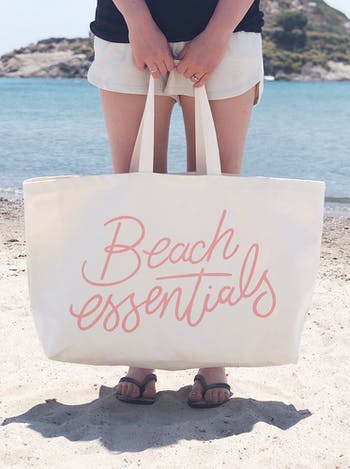 Beach Essentials - REALLY Big Bag