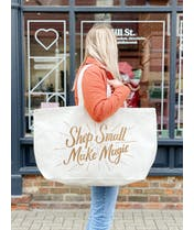 Shop Small Make Magic - REALLY Big Bag