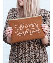 Self Care Essentials - Tan Pouch