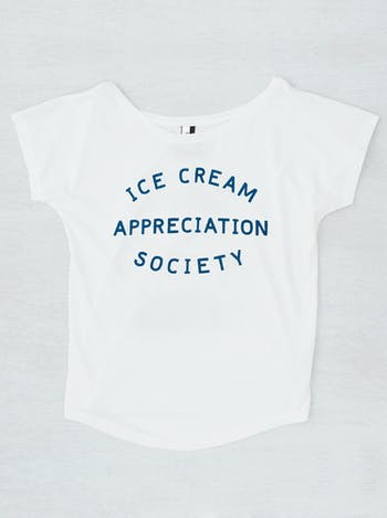 Ice Cream Appreciation Society - Loose Fit T-Shirt