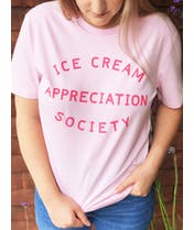 Ice Cream Appreciation Society - Strawberry T-Shirt