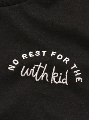 No Rest For The With Kid T Shirt | Funny Shirt For Mums | Alphabet Bags