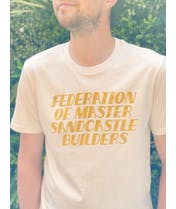 Federation of Master Sandcastle Builders - Sand T-shirt - Second