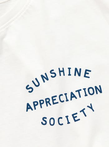 Sunshine Appreciation T-Shirt | Women's Slogan Top | Alphabet Bags