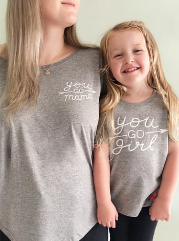 You Go Mama - Womens T-Shirt