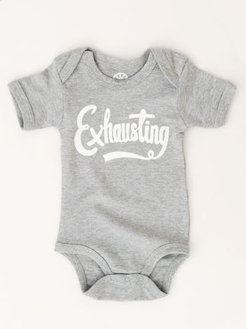 Exhausting - Baby Bodysuit - Second