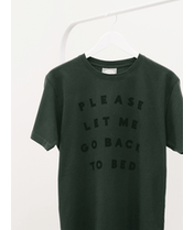 Back to Bed - Mens T-Shirt