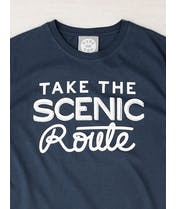 Take the Scenic Route - Mens T-Shirt